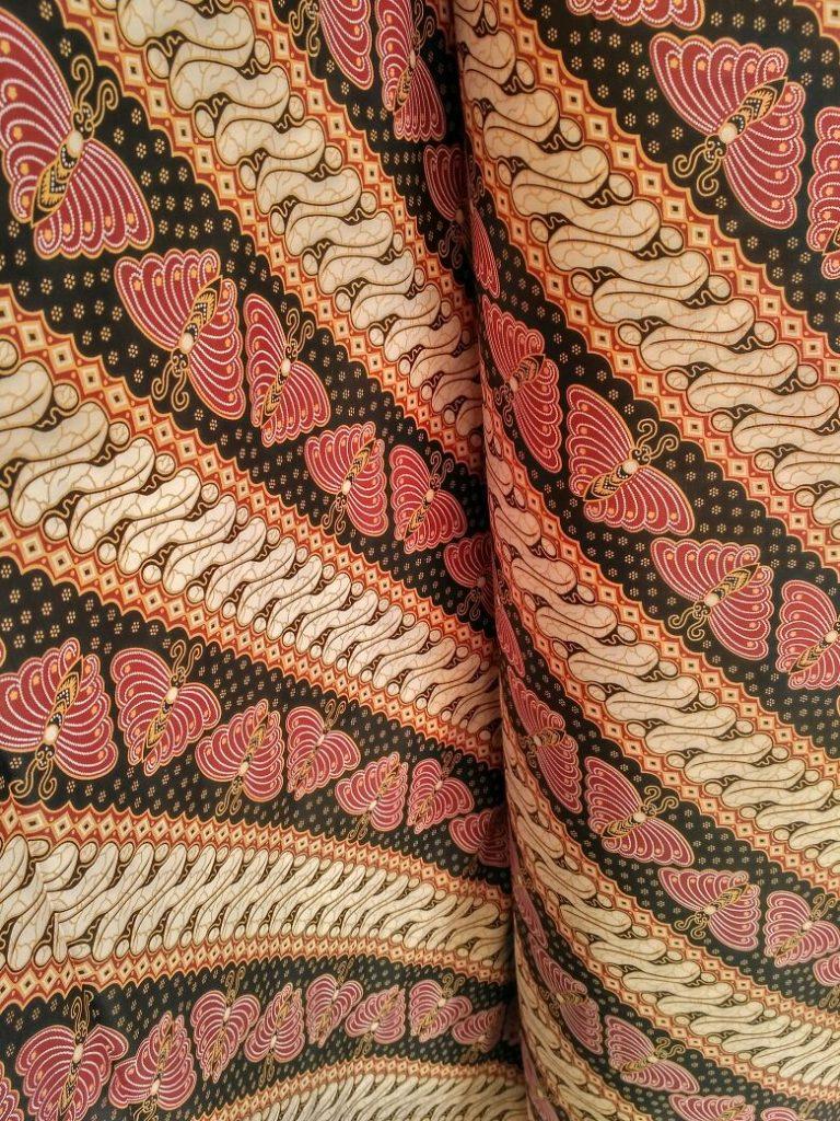 Kain Asli Batik Coklat