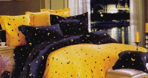 Starry Night Kuning Biru